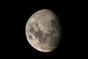 Moon ISO 100, 1-1000 sec