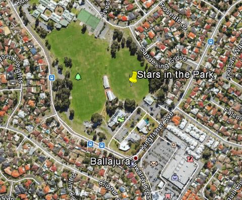 stars in the park location